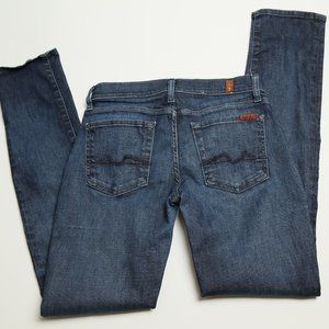 7 For All Mankind Roxanne Women Ankle Jeans 27x33